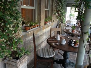 The conservatory is the restaurant …