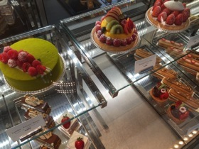 The patisseries specialises in éclairs, of all sizes