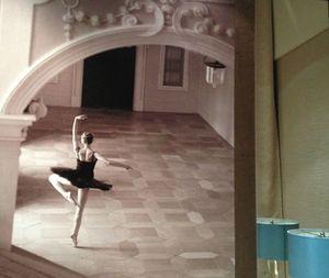 """'Ballerina on the wall"""""""