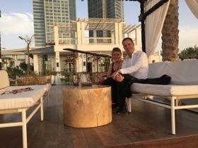 St Regis Abu Dhabi GM Oliver Keys at Asia da Cuba