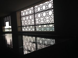 Private pool in suite 646, Park Hyatt Abu Dhabi
