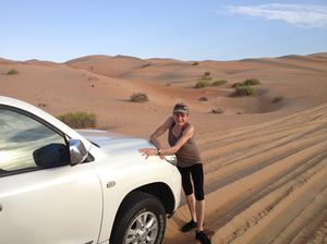 Oh to be in the Empty Quarter...
