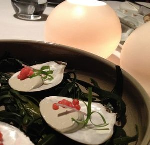 Oysters at Bord'Deau