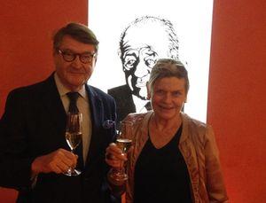 Tom Krooswijk, in front of Freddy Heineken
