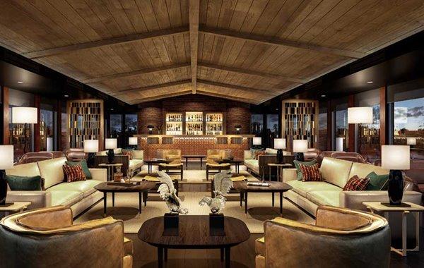 Aqua Nera – Lounge rendering