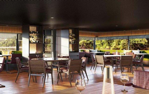 Aqua Nera – Restaurant rendering