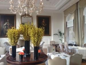 Samaras has turned the Tudor Hall restaurant into perfection