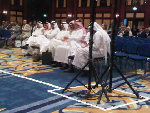 Part of 'the floor' at the UNWTO forum at Arabian Travel Market