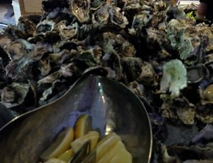 Want oysters…