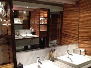 A memorable washroom…