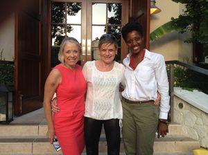 At Mahogany House, Gena Conroy, left, and Royann Dean