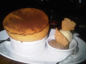 baileys souffle dessert at mezza9 restaurant macau