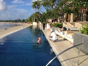 New pool at Four Seasons Jimbaran Bay