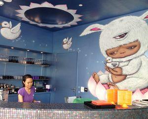 Bar at W Bangkok's pool