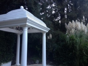 A cupola, ready for the next wedding