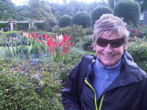 The gardens, open as National Trust, show just one of the talents of a girlahead a century ago