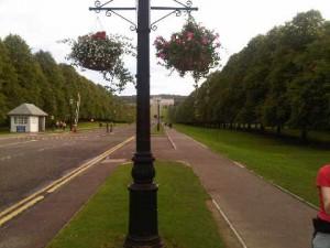 Stormont Castle...