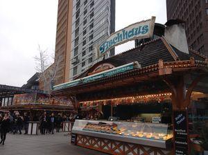 Christmas market at Potsdamer Platz