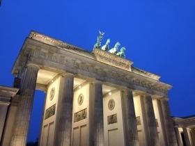 That always memorable view, Berlin's Brandenburg Gate