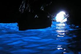 Capri's famous Blue Grotto