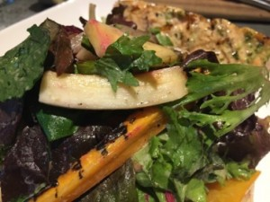 .. and Fall vegetable salad