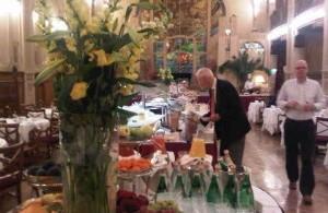 Breakfast at Belmond Grand Hotel Europe, St Petersburg