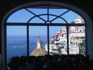 Positano view from La Sireneuse