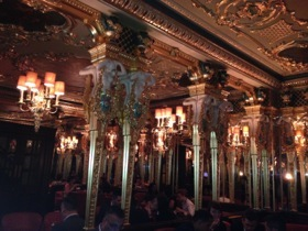 The Oscar Wilde Room, venue for the evening party