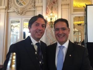 Giuseppe V and Alvaro Rey