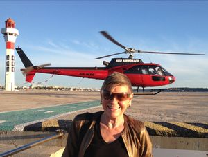 Helicopter gal….