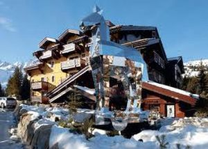 The real thing, Le Cheval Blanc at Courchevel