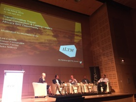 Panel discussion at ILTM Africa