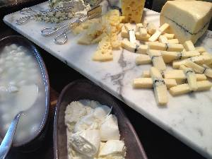 mozzarela at cheese buffet in buenos aires argentina