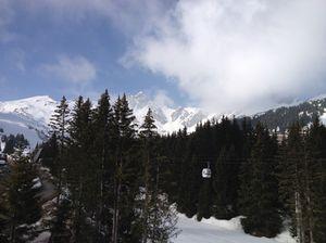 Plenty of snow still on those peaks