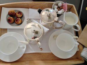 My morning tea tray