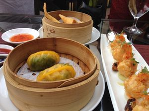 Dim sum on the Shanghai Terrace