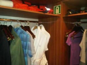 Suite's closet - Silversea's Silver Explorer