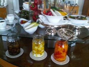 Club lounge lunch delights at Ritz-Carlton Tokyo