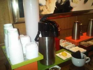 Cofee corner, Four Seasons hotel, Miami
