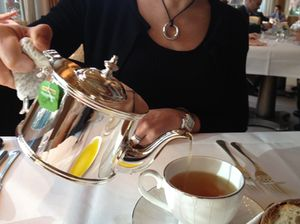 Tea at The Connaught, such elegance