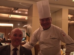 Mark Meaney and Chef Ku Keung