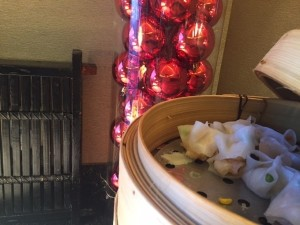 A festive sense to dim sum in the club lounge