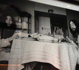 John Lennon and Yoko Ono, Amsterdam 1969