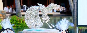 The grand trophy for Festival Culinaire de Bernard Loiseau