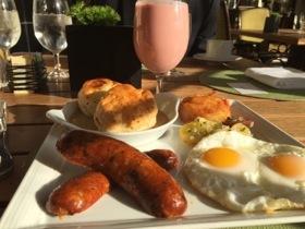 Texan breakfast