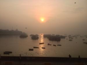 Sunrise, from the Sea Lounge