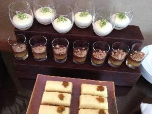 desserts at Gioia Restaurante & Terraces - Buenos Aires, Argentina