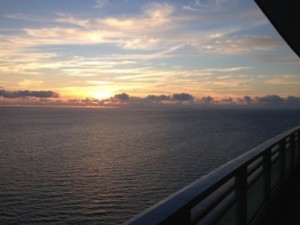 Sunrise from suite 2471