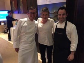 Chefs from Royal Monceau Raffles, Paris, were in town to cook at Raffles Dubai