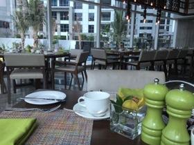 Fun table setting at breakfast